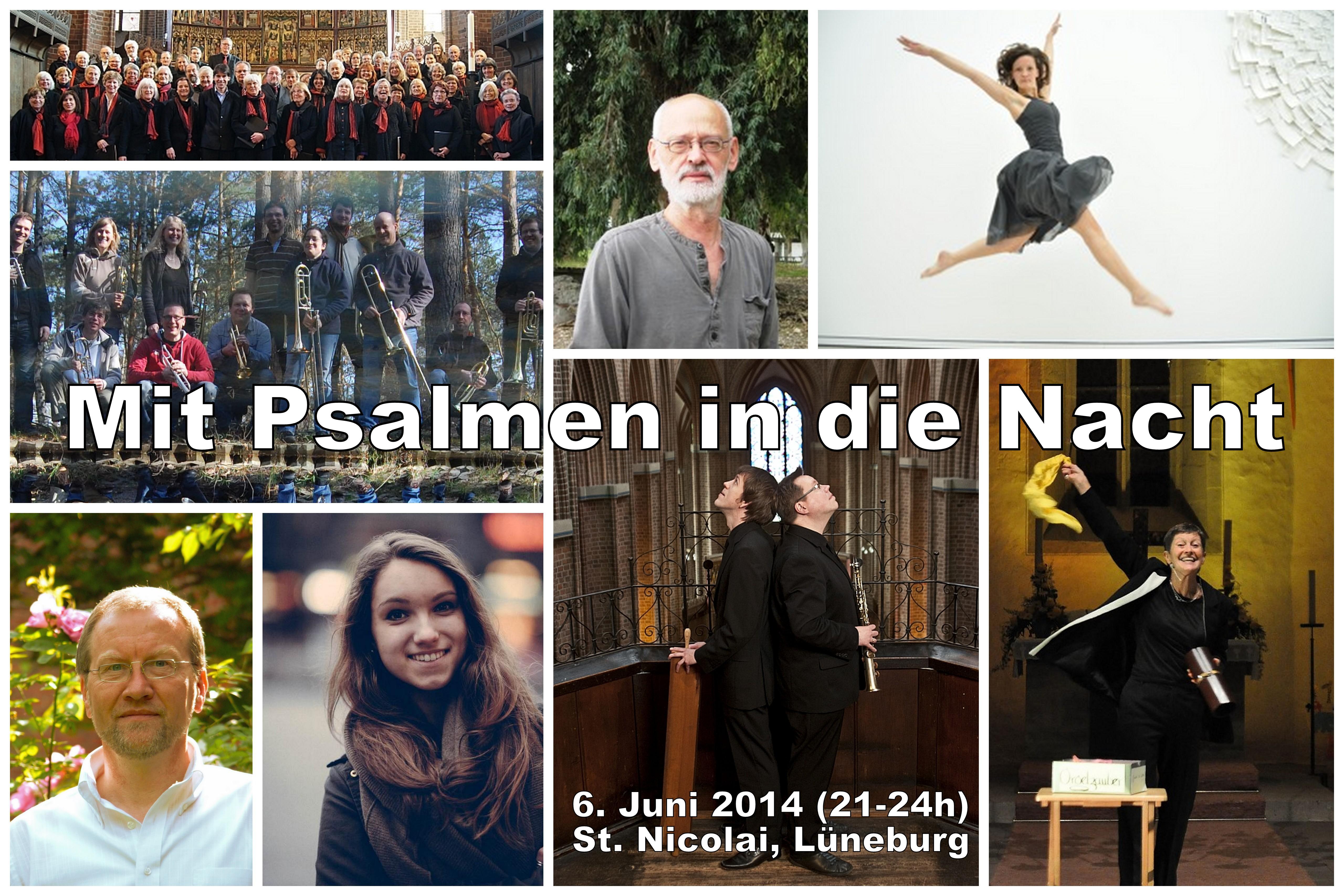 6. Juni, 21 Uhr bis Mitternacht – Psalmnacht in St. Nicolai, Lüneburg